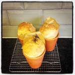 On daily bread… and the occasional flower pot loaf
