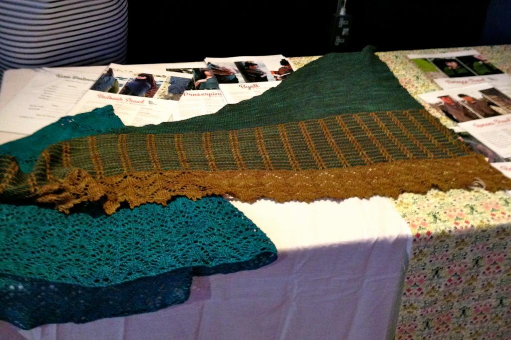 Prosperine & Byatt shawls