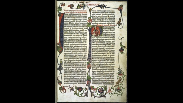 Gutenberg Bible (circa 1455) held by the British Library